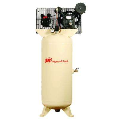 Type 30 Reciprocating 60 Gal. 5 HP Electric 230-Volt Single Phase Air Compressor