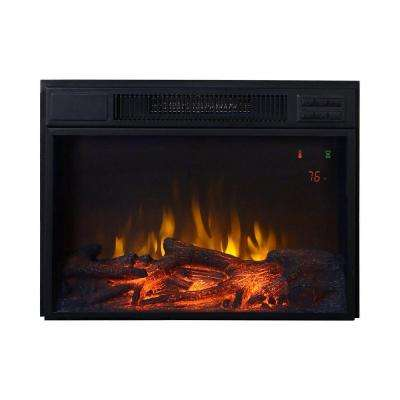23 in. 1,500-Watt Electric Firebox Insert with Remote Control