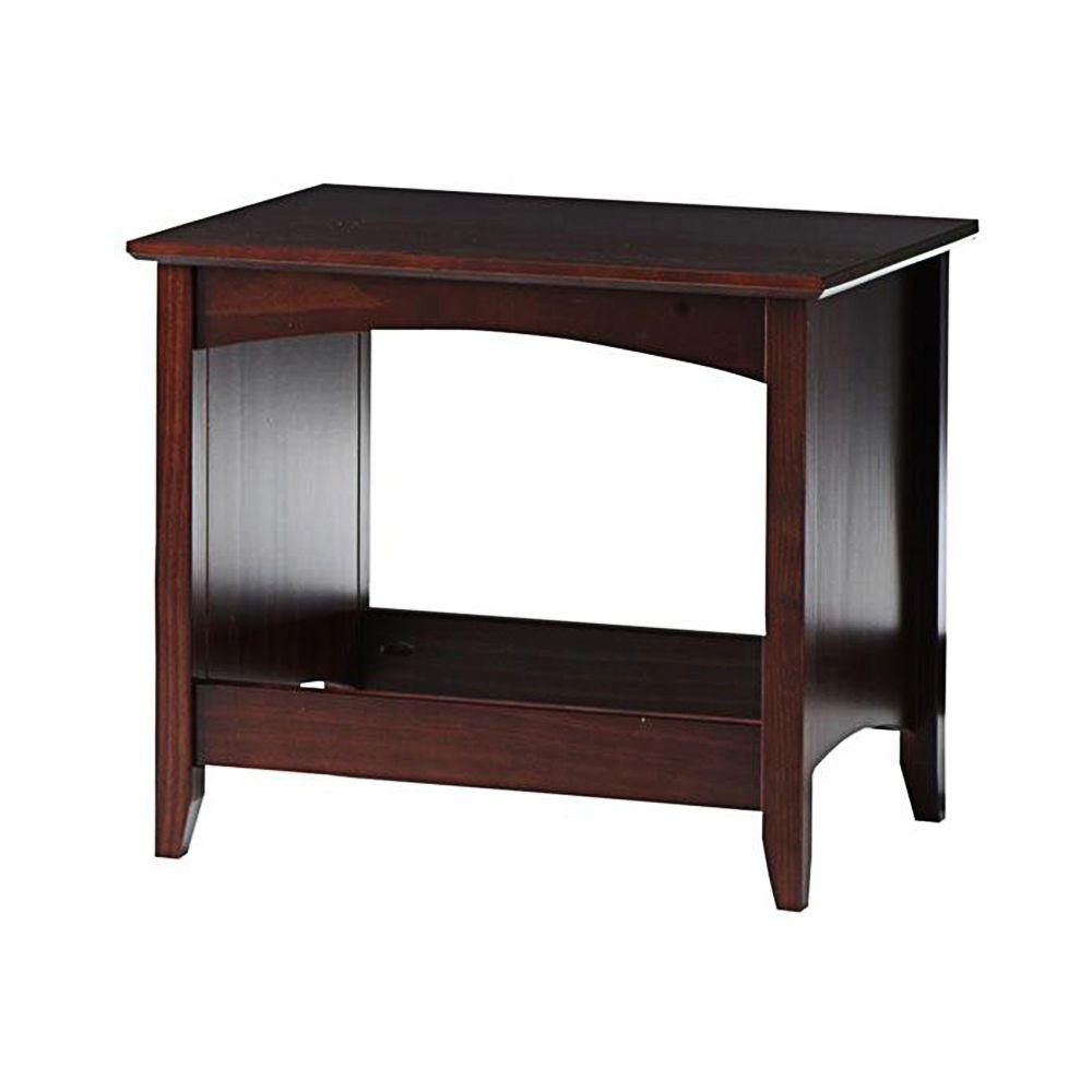 Home Decorators Collection Hawthorne Dark Cherry 21 in. W Bench
