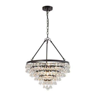 Ramira 6-Light Oil Rubbed Bronze Chandelier