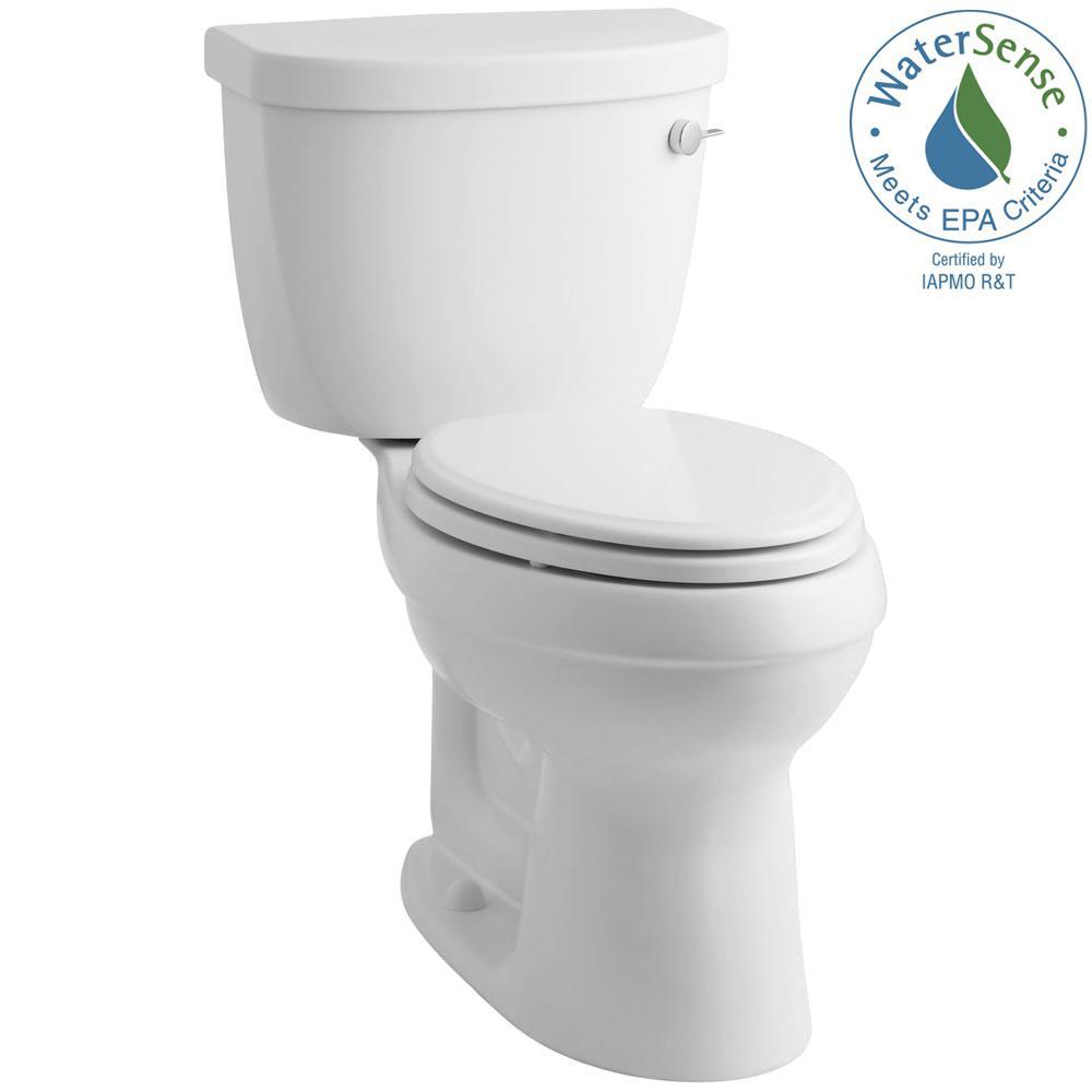Cimarron 2-piece 1.28 GPF Elongated Toilet with AquaPiston Flushing Technology