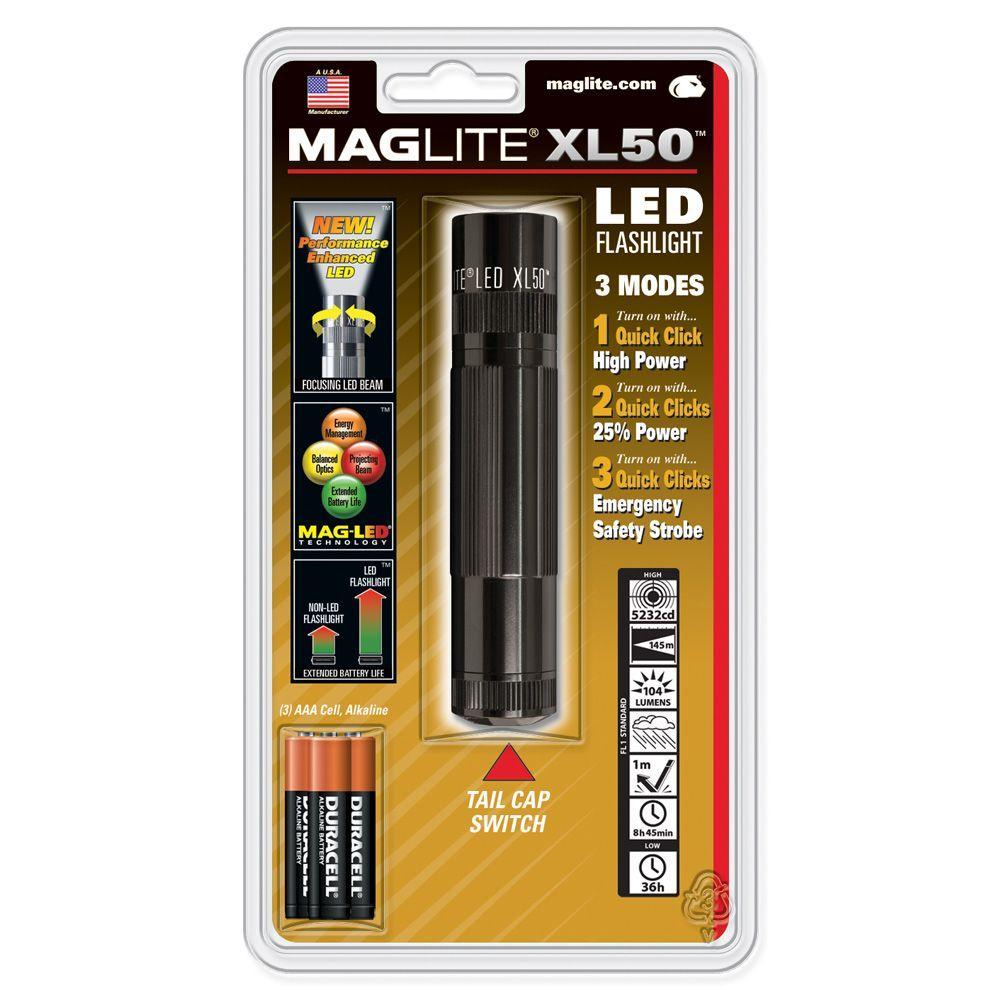LED XL50 Flashlight