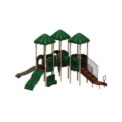 UPlay Today Cumberland Gap Natural Commercial Playground Playset