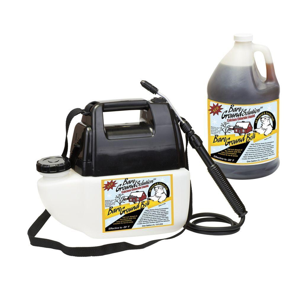 1 Gal. Battery Powered with Liquid Calcium Chloride Ice M...