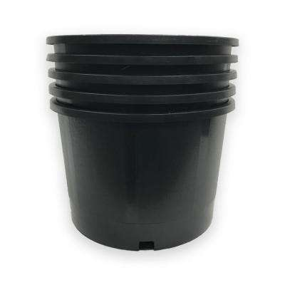 5 Gal. Heavy-Duty Round Nursery Trade Pot (4.2 Gal/18 l/0.56 cu. ft. 10-Pack)