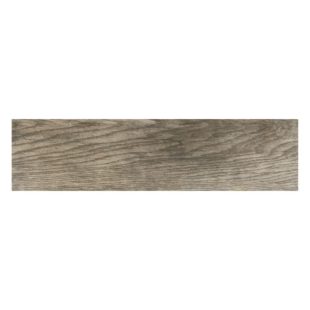Marazzi Montagna Rustic Bay 6 in. x 24 in. Glazed Porcelain Floor ...