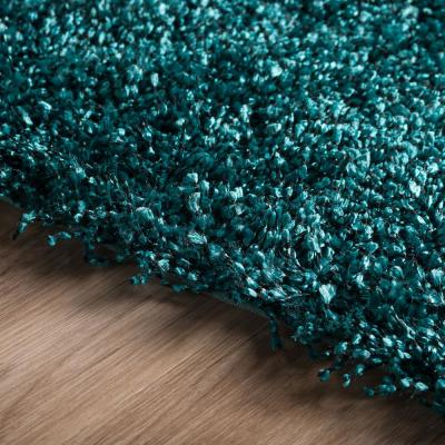 Decadent 1 Teal 5 ft. X 7 ft. 6 in. Area Rug