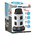 4-Outlets / 6 USB Spin Power - The Ultimate Smart Charging Station