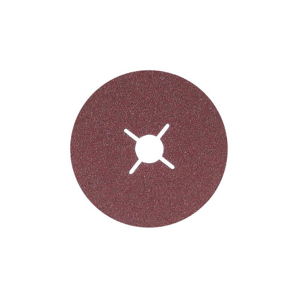 COOLCUT 4.5 in. x 7/8 in. Arbor GR80, Sanding Discs (Pack of 25)