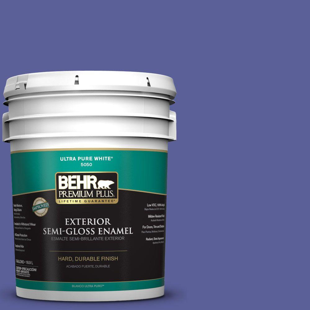 5-gal. #P550-6 Wizards Potion Semi-Gloss Enamel Exterior Paint