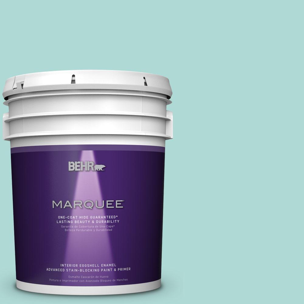 5 gal. #M450-3 Wave Top One-Coat Hide Eggshell Enamel Interior Paint