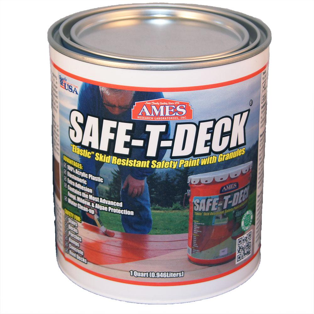 Ames Safe T Deck 1 Qt Brown Slip Resistant Waterproof