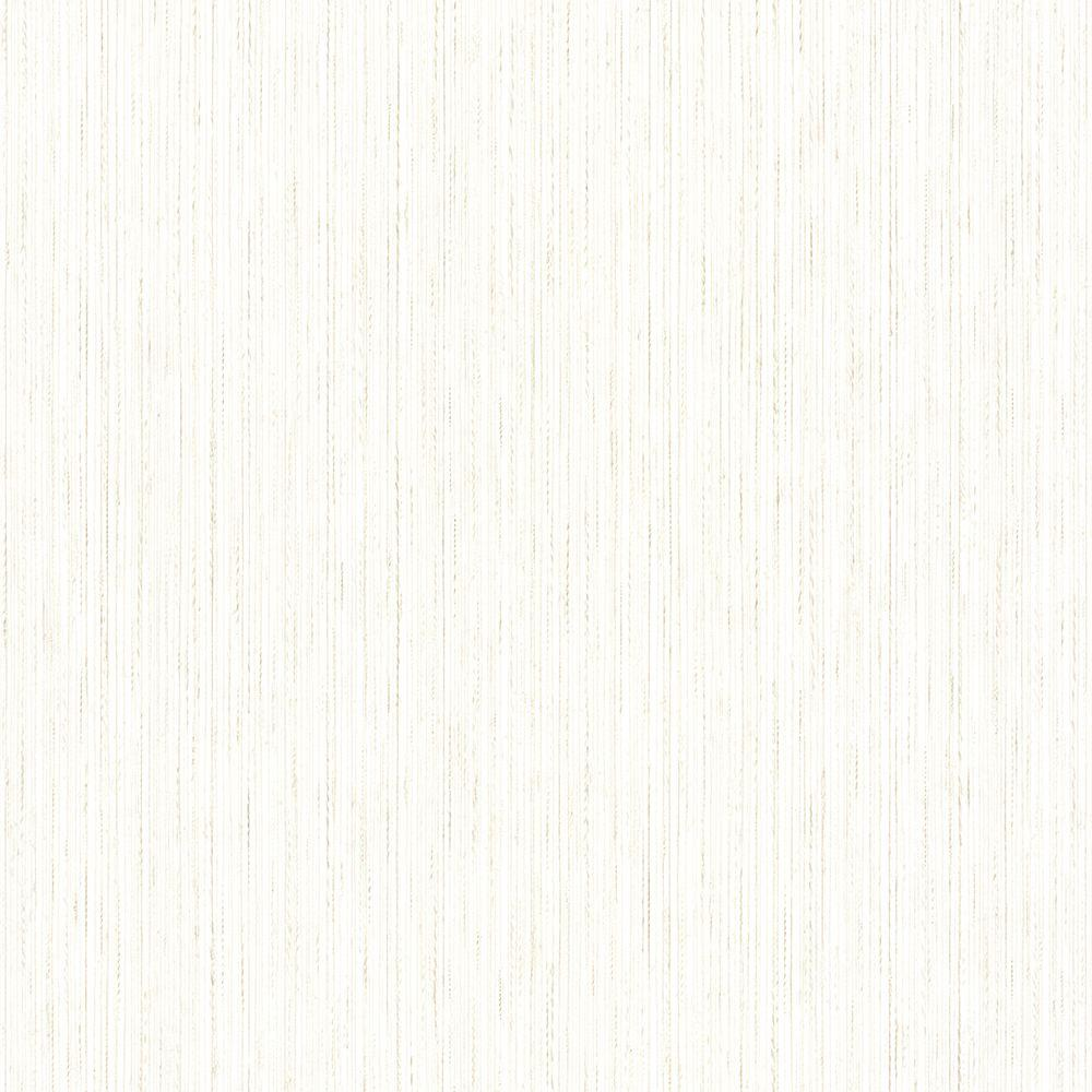 Crystal String Cream Twined Satin Texture Wallpaper
