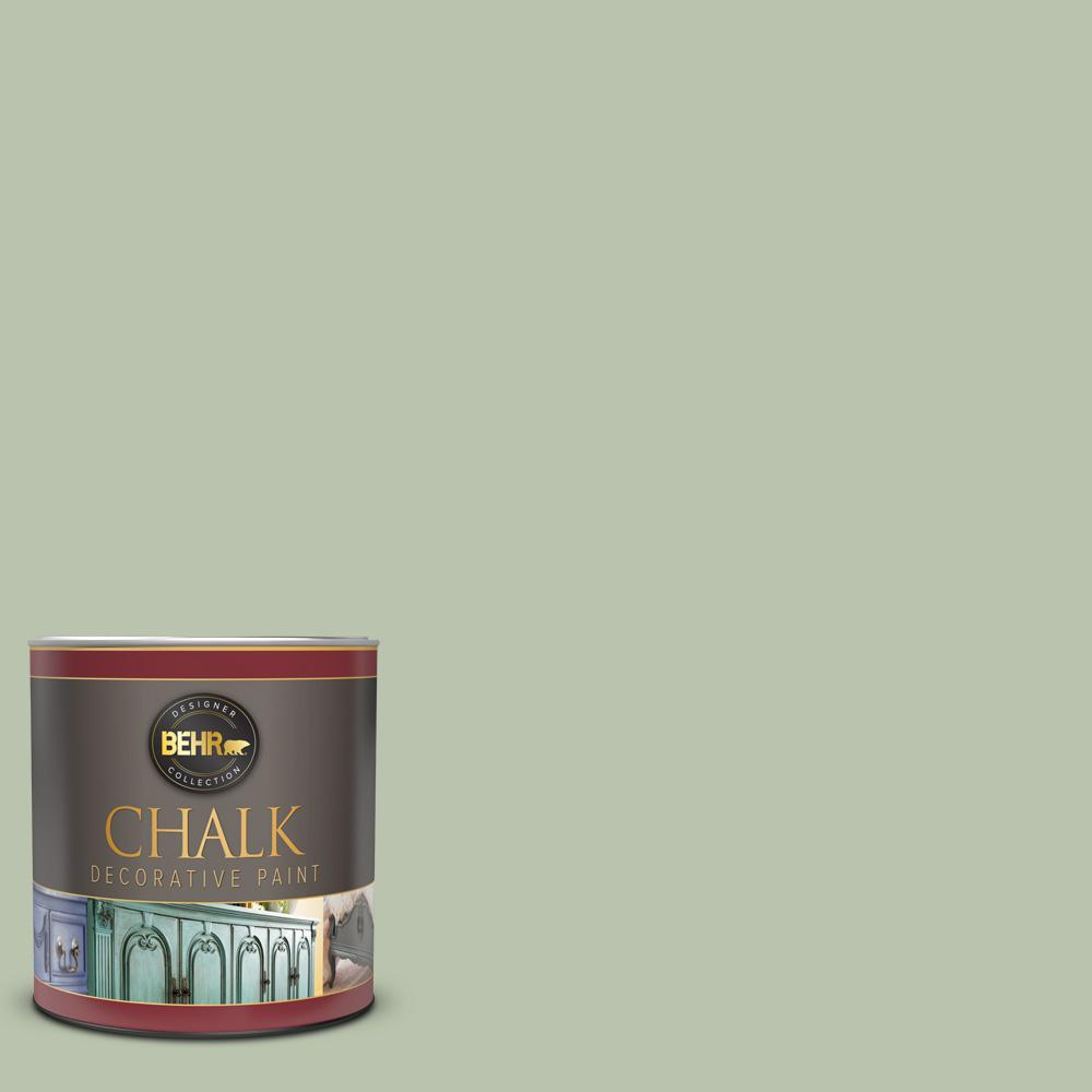 BEHR 1 qt. #BCP22 Creme De Mint Interior Chalk Decorative Paint