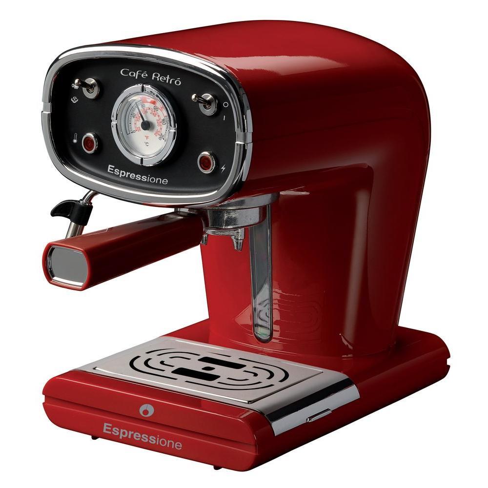New Cafe Retro Espresso Machine