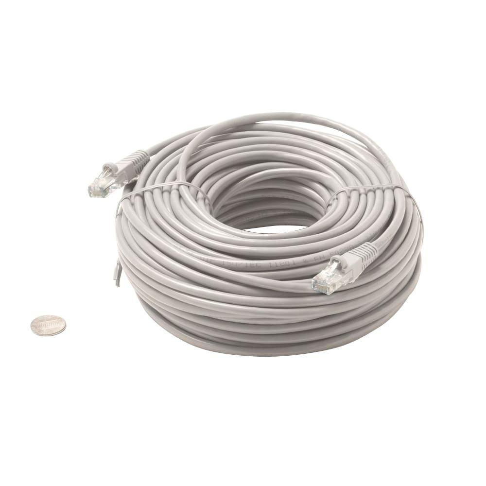 Steren 5 ft. Molded Cat5E UTP Patch Cord - Grey