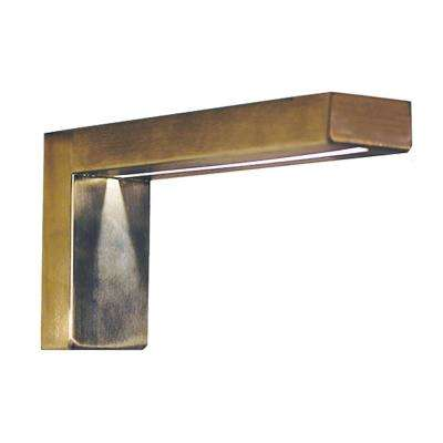 Lumiere 8 in. x 4 in. Stainless Steel Illuminated Countertop Bracket