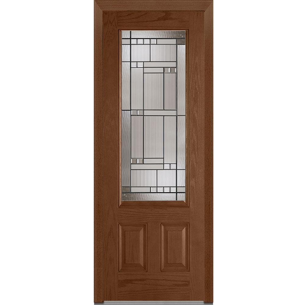 Mmi Door 36 In X 96 In Kensington Left Hand 3 4 Lite 2