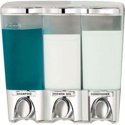 Clear Choice 3 Chamber Dispenser Chrome
