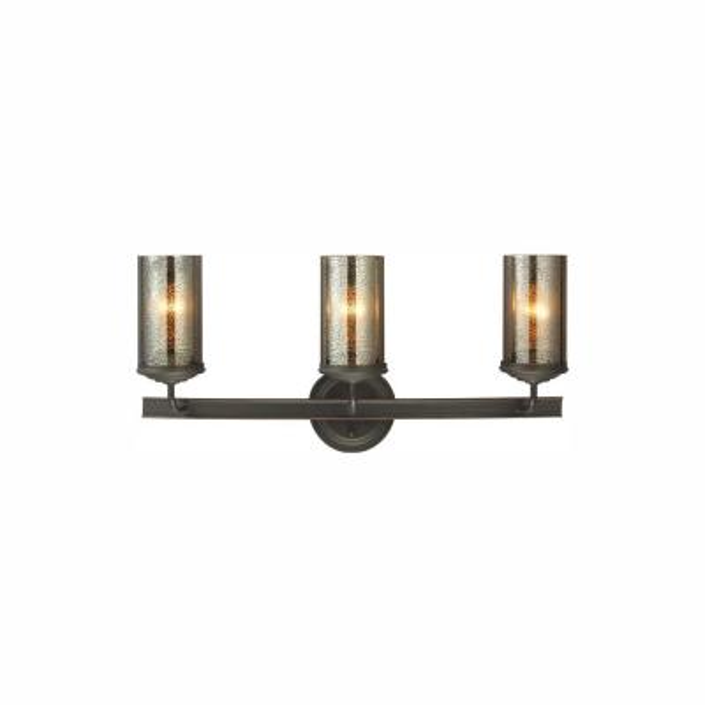 Sfera 24 in. W. 3-Light Autumn Bronze Bath Light with LED Bulbs