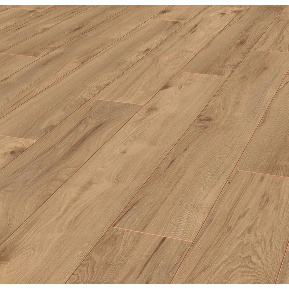 Lifeproof Russet Meadow Hickory 12 Mm Thick X 6.1 In. Wide X 47.64 In. Length Laminate Flooring (14.13 Sq. Ft. / Case), Light