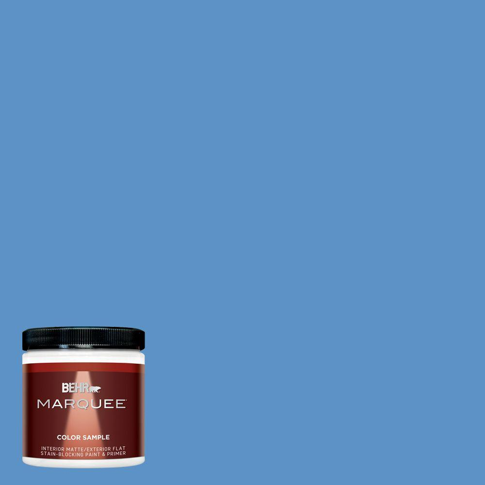 8 oz. #MQ4-26 Come Sail Away Matte Interior/Exterior Paint and Primer