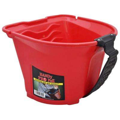 1/2 gal. Red Plastic Paint Pail