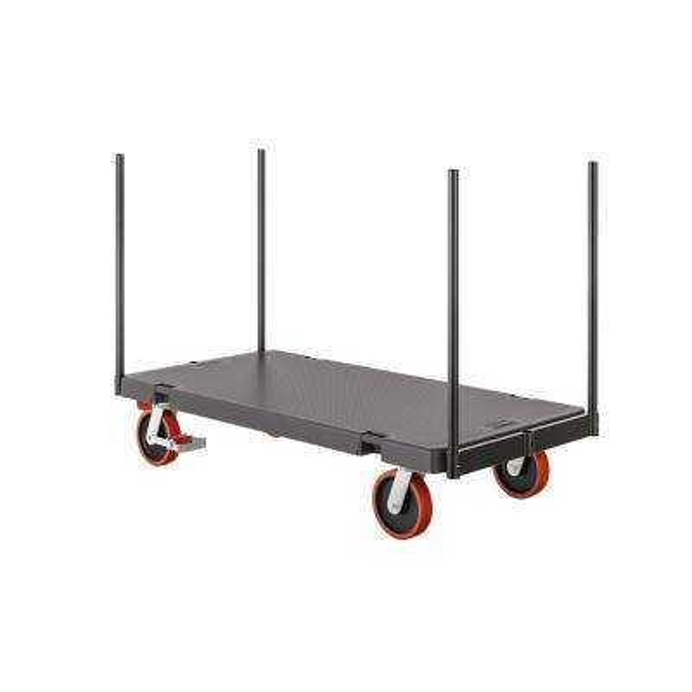 1000 lb. 30 x 60 Resin Stanchion Cart