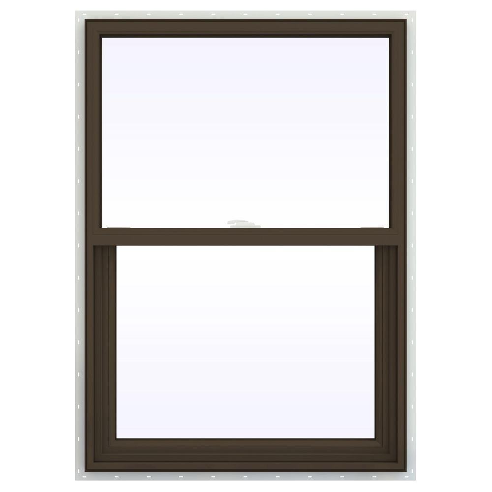 29.5 in. x 41.5 in. V-2500 Series Single Hung Vinyl Window