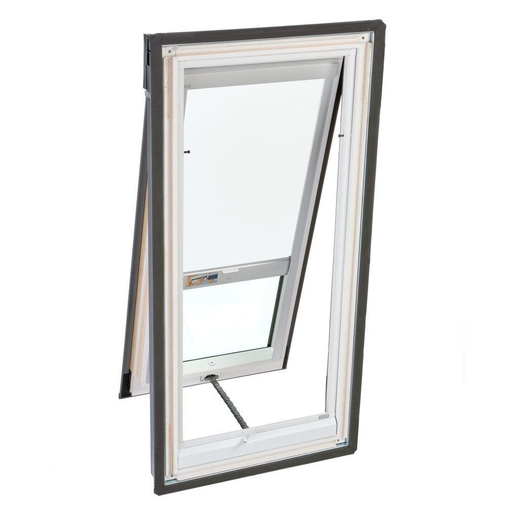 VELUX White Solar Powered Blackout Skylight Blind for VS/VSE/VSS S06 Models