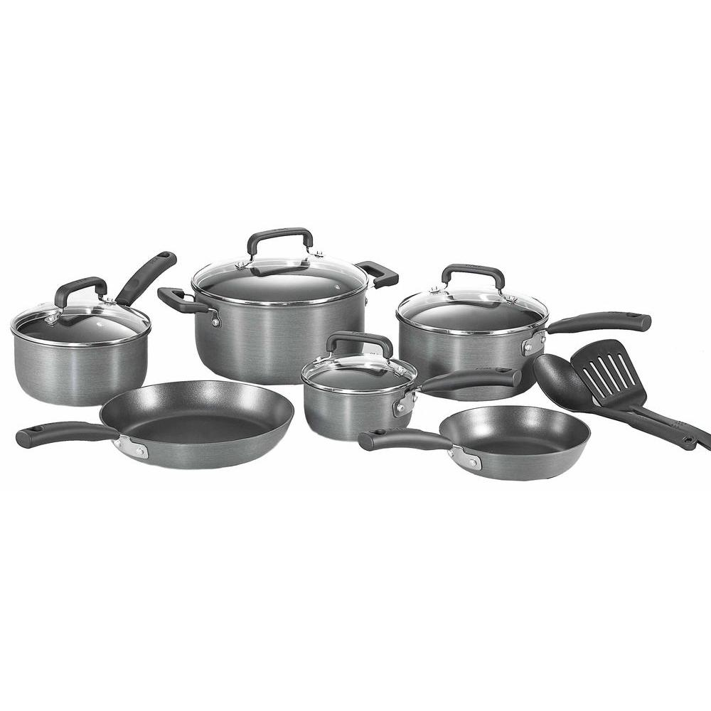T-Fal Signature 12-Piece Hard Anodized Non-Stick Cookware Set