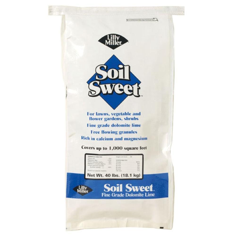 Lilly Miller Soil Sweet 40 lb. Dolomite Lime