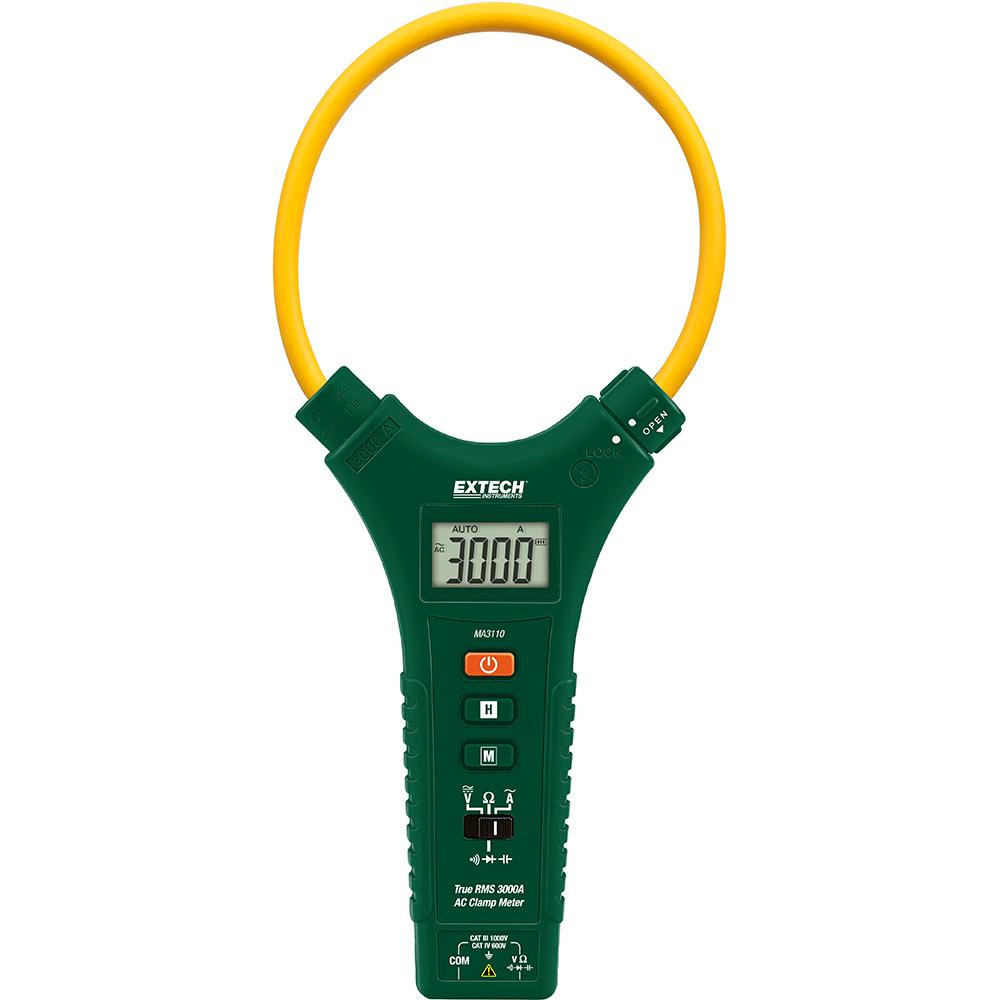 Extech CAT IV True RMS 3000 Amp AC Flexible ClAmp Meter