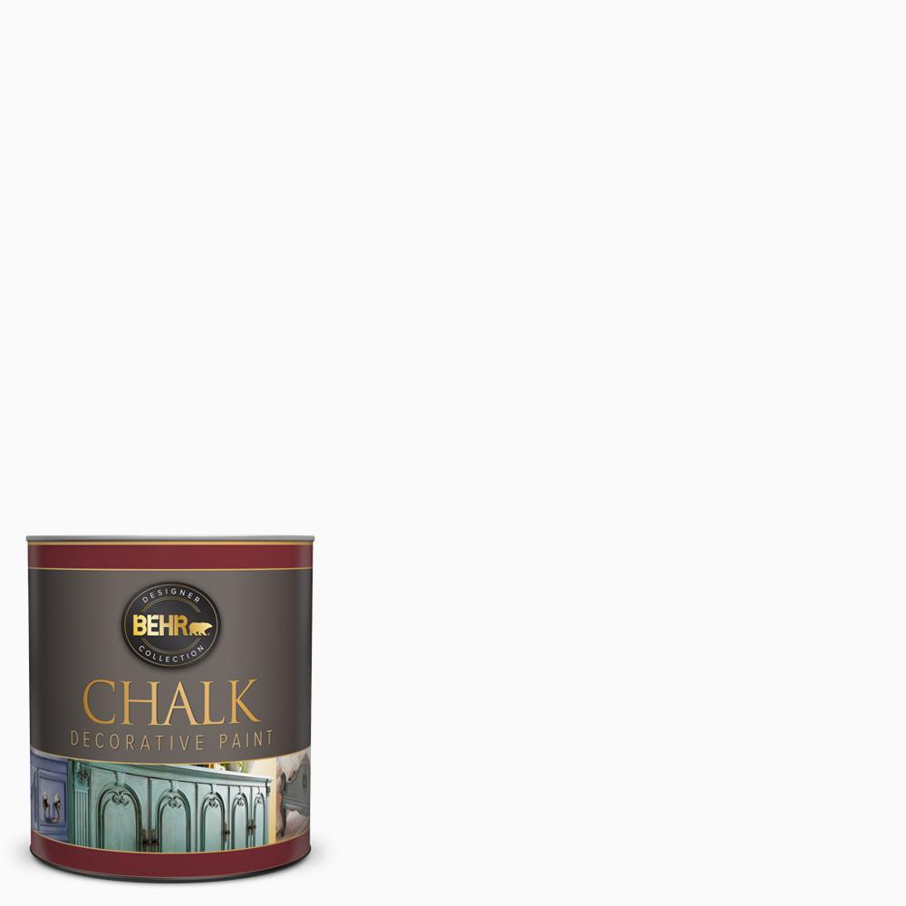 31 oz. White Interior Chalk Finish Paint