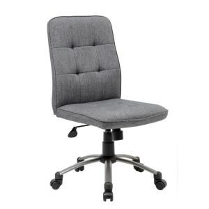 Internet #301749320. Boss Slate Grey Modern Office Chair ...