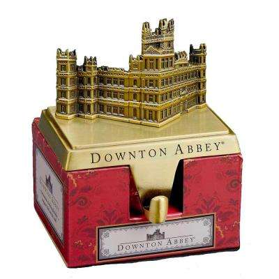 5.09 in. Antique Brass Plated Downton Abbey Stocking Hanger