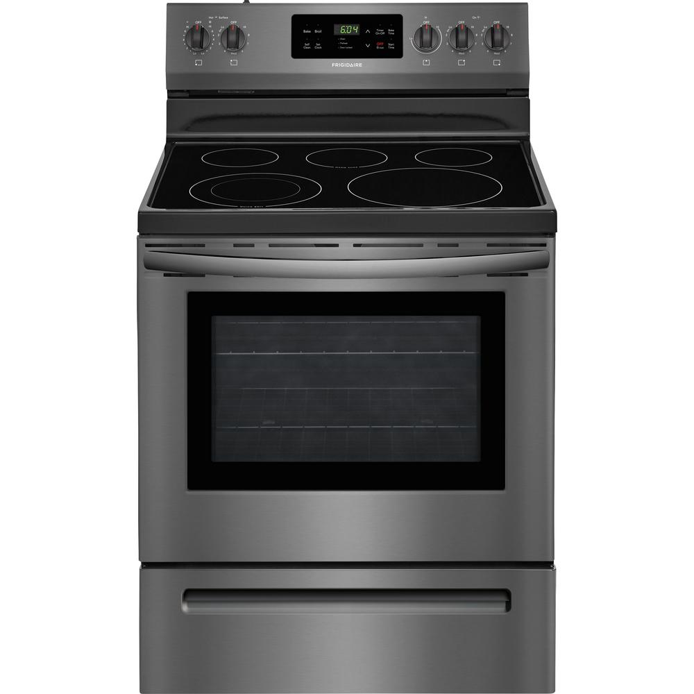 Frigidaire 30 in. 5.3 cu. ft. Electric Range with Self-Cl...