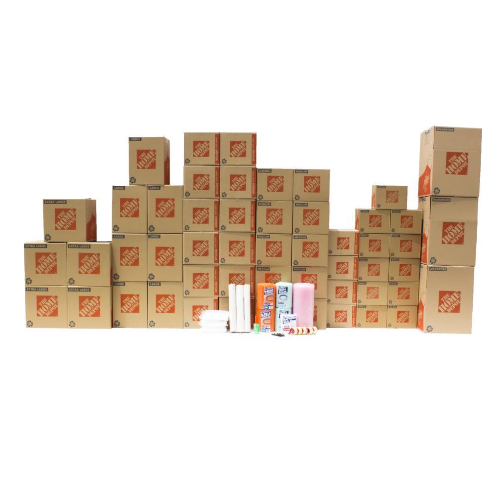 50-Box 2 Bedroom Moving Box Kit