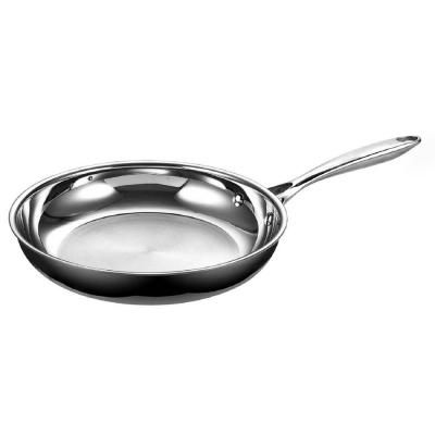 Multi-Ply Clad 10.5 in. Stainless Steel Frying Pan