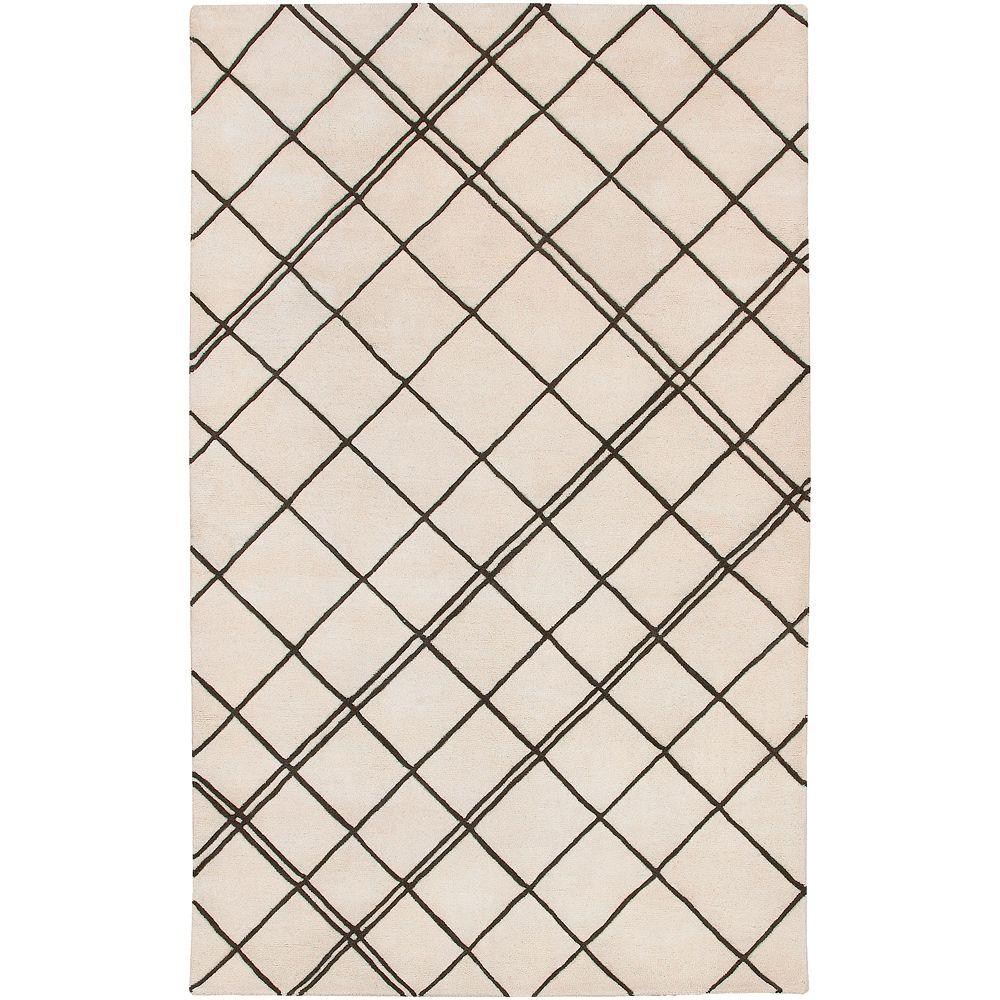 Vaca Beige 5 ft. x 8 ft. Area Rug