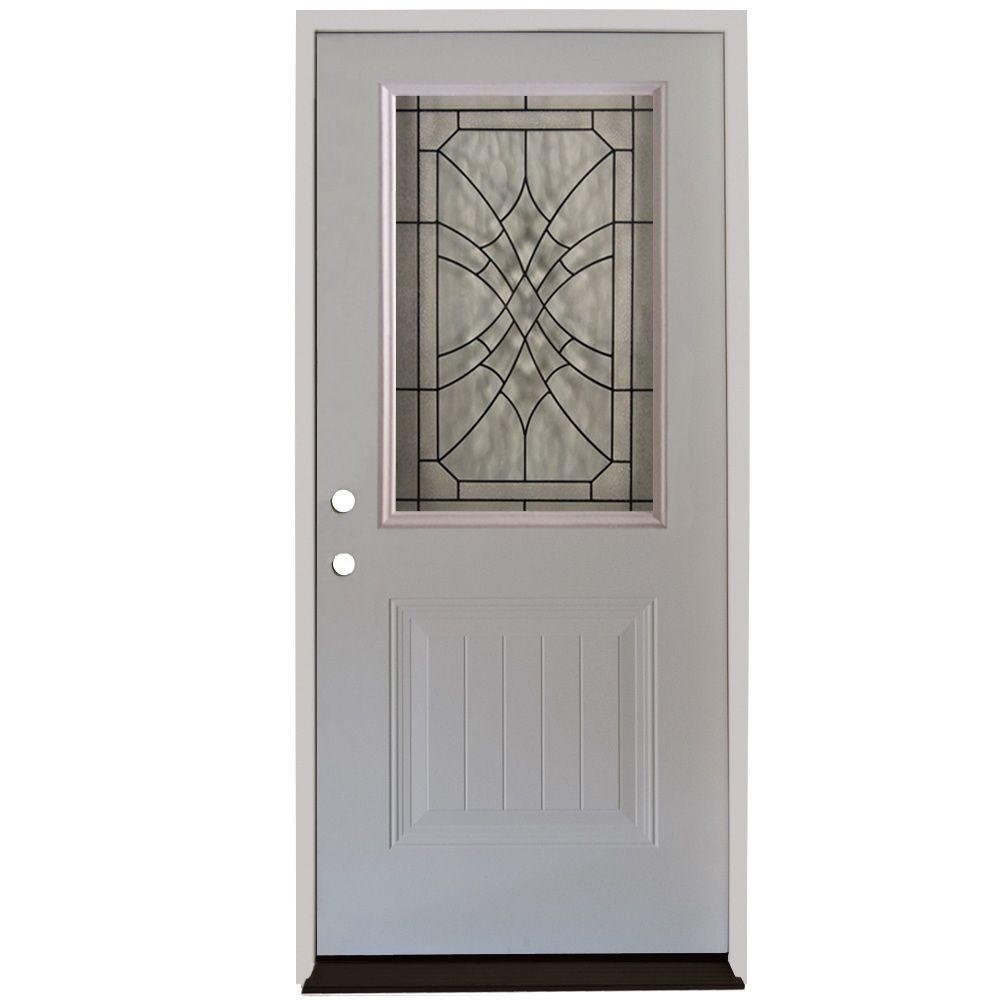 34 prehung entry door. 34 prehung entry door