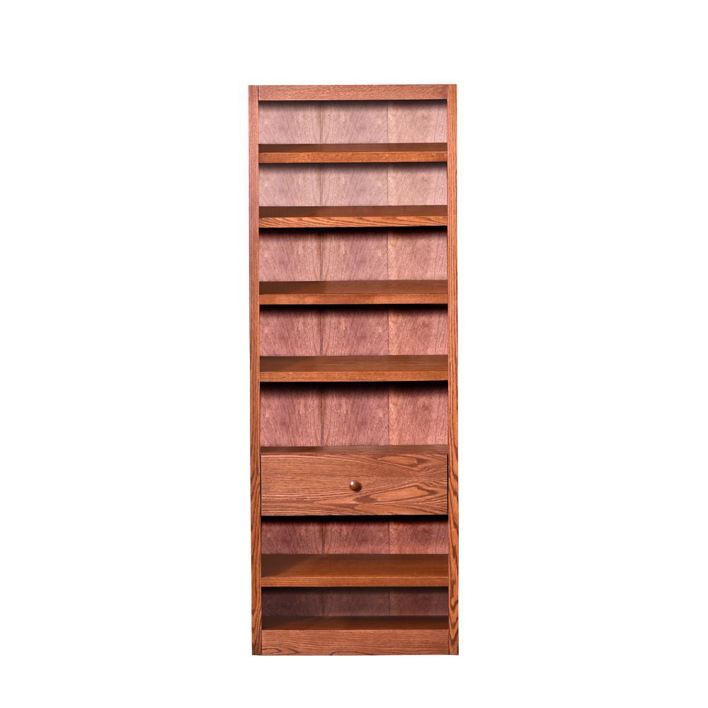 Dry Oak Storage Bookcase