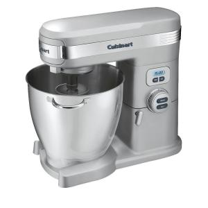 Cuisinart 7 Qt. 12-Speed Brushed Chrome Stand Mixer by Cuisinart