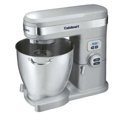 7 Qt. 12-Speed Brushed Chrome Stand Mixer