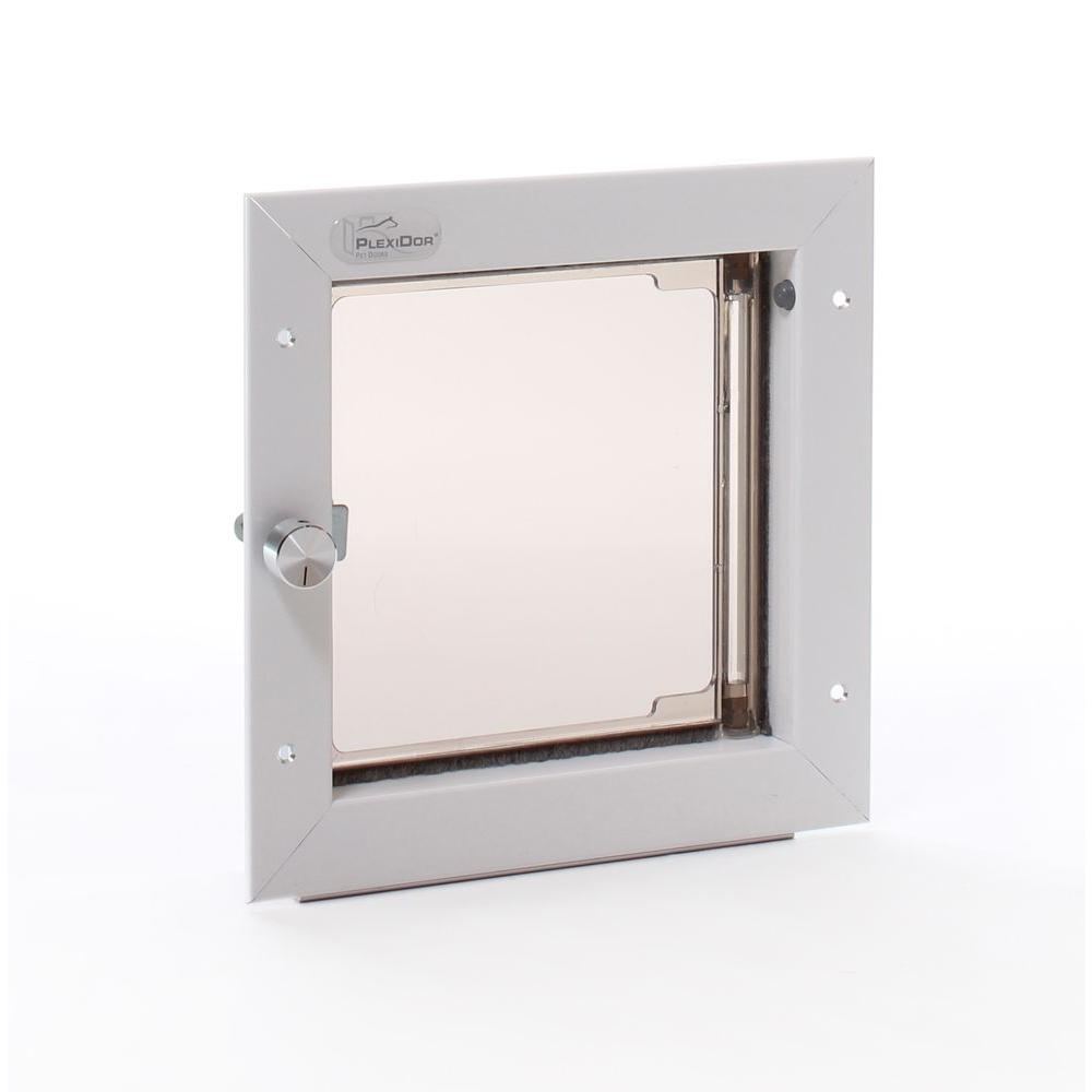 Plexidor Performance Pet Doors 65 In X 725 In Small White Wall