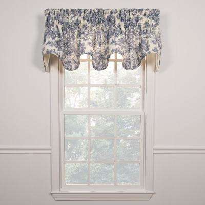 Valance Window Scarves Valances Window Treatments The Home Depot