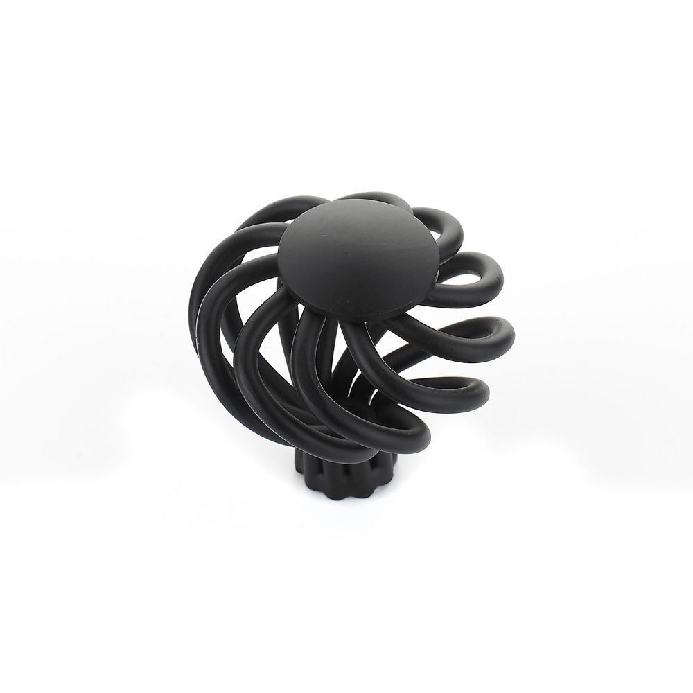 38 mm Matte Black Knob