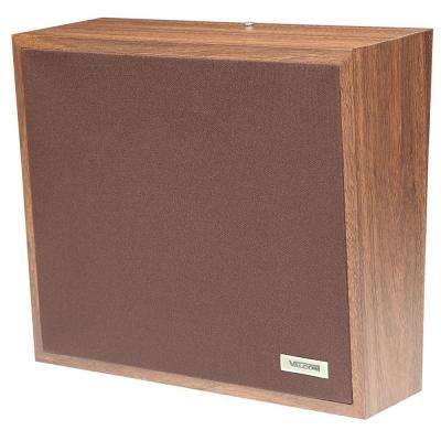 1-Way Woodgrain Wall Speaker - Cloth