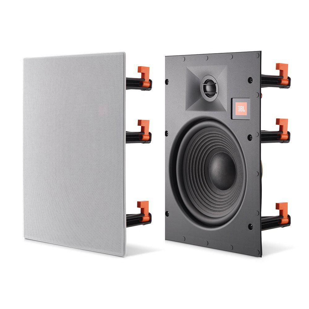 Leviton Architectural Edition Powered By Jbl 8 In Wall Speaker Wiring Speakers Basement