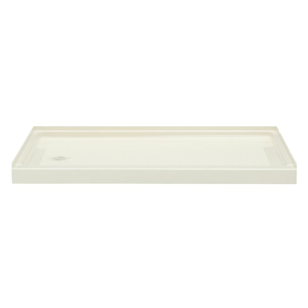 Veritek 32 in. x 60 in. Single Threshold Retrofit Left Drain
